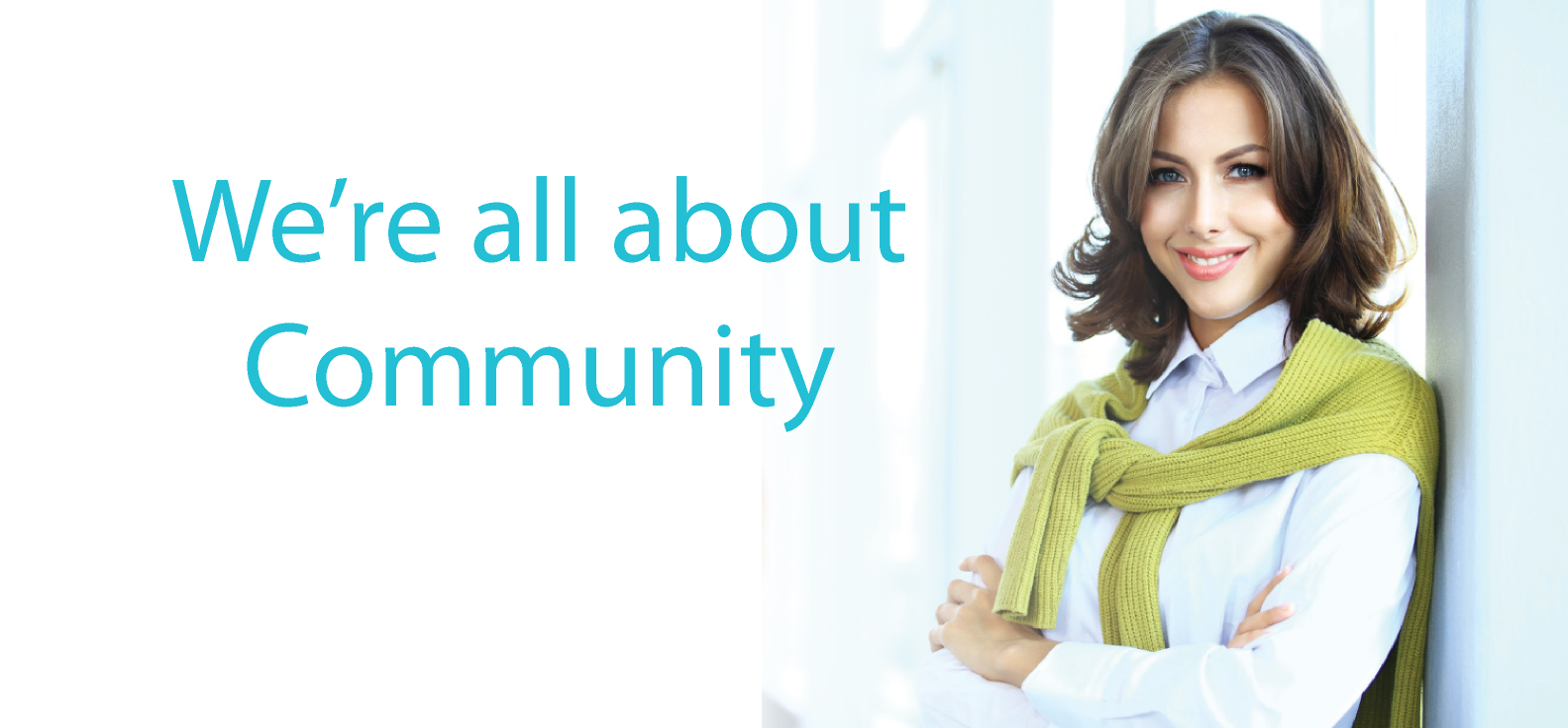 We're All About Community